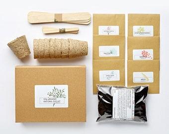 GYO Organic Natural Dye Garden Kit