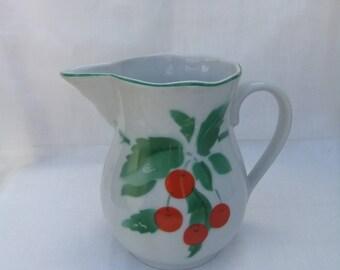 Pitcher Porcelain -Soviet Vintage,1980