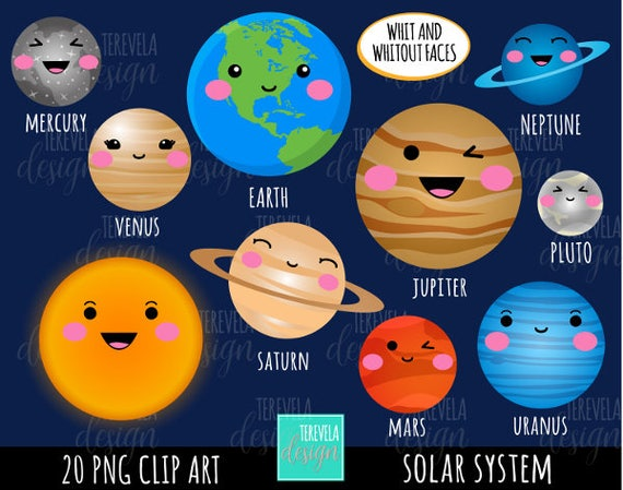 solar system clipart - photo #6