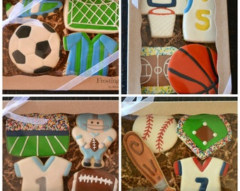 BOXED Cookie Sets Baby Birthday School Thank you Wedding Sports Big Sister Brother Celebrations Holidays Shower Cancer Graduation Girl Boy