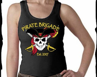 Pirate Brigade Ladies Wide Strap Tank