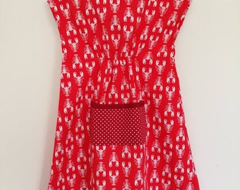 Lobster Smock Dress