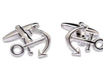 Big Anchor Cufflinks