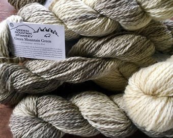 Green Mountain Green - undyed eco friendly