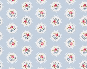 Fabric by the yard- Cotton quilting fabric Pavilion Teacup -Amy Sinibaldi-- Art Gallery- quilting and sewing fabric- summery fun fabric