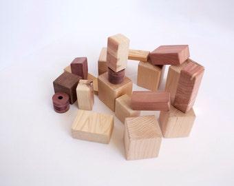 Wooden / Waldorf Style Blocks