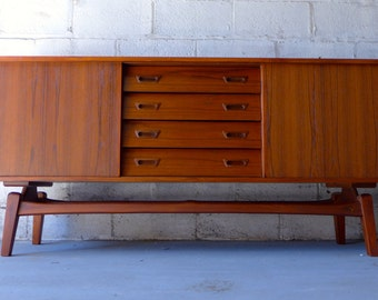 Mid Century Modern styled CREDENZA media stand