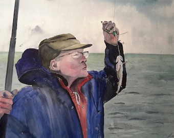"""St. valery in caux fisherman says """"gg"""""""