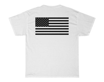 Off The Fence American Flag Tee