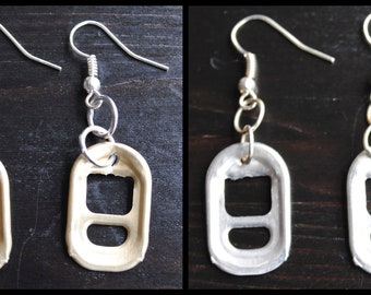 Ring pull earrings (Style 2)
