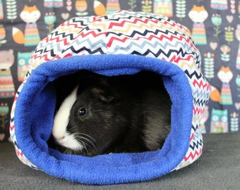 Custom Large Fleece Snuggly Hut for Hedgehogs, Rats, Tenrecs and Guinea Pigs