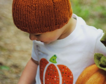 Pumpkin Hat- Toddler and Kids Size