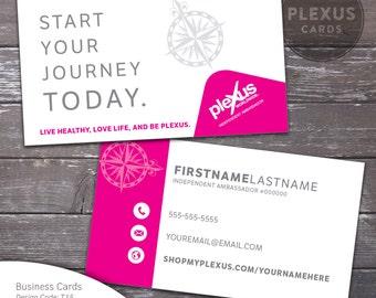 Plexus business card etsy plexus journey business card design digital files reheart Choice Image