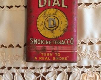 Dial Smoking Tobacco Tin