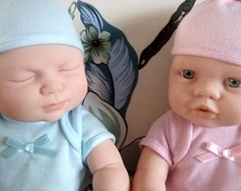 Boy and girl dollies