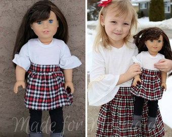DOLLY Rose Ruffle Top PDF Sewing Pattern