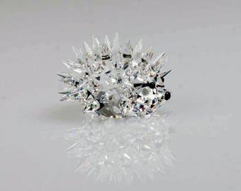 Swarovski Hedgehogs-Swarovski Hedgehog-Crystal Hedgehog-Vintage crystal Hedgehog-Swarovski Crystals-Swarovski Animals- Gift Boxed Crystals