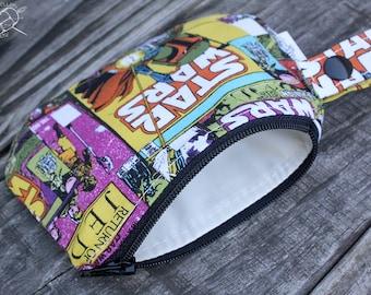 Waterproof Mouth Guard Case Roller Derby Star Wars Boba Fett Zipper Closure Made To Order