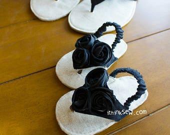 Allyson Baby Flip Flops PDF Sewing Pattern (#803)