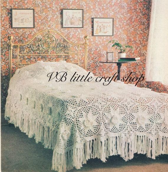 Tagesdecke Bettdecke häkeln Muster. Instant PDF-Download! von ...