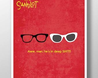 The Sandlot Minimalist Poster