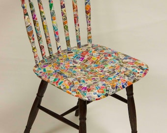 No. #10 Fifty Fifty - Exclusive handmade design chair