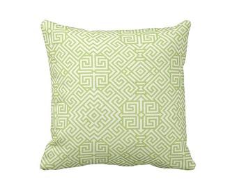 SALE | 30% OFF: Kiwi Green Pillow Cover Green Throw Pillow Cover Decorative Pillows for Sofa Pillows Aztec Pillows Tribal Pillows