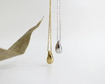 Amebelle & Co.™ - Droplet Necklace in 925 Sterling Silver