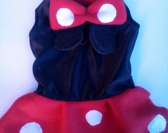 Minnie mouse dog costume, minnie mouse costume for dogs, minnie mouse costume