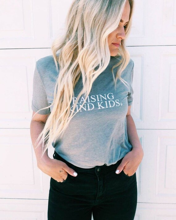 RAISING KIND KIDS Tee or Tank, Raising Kind Kids, Kind Kids, Kind, Be Kind, Kind Tshirts, Kindness Tee, Kindness Tshirts, Kindness Tees
