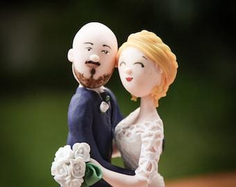 Cake topper un un fotografo ed una regtista