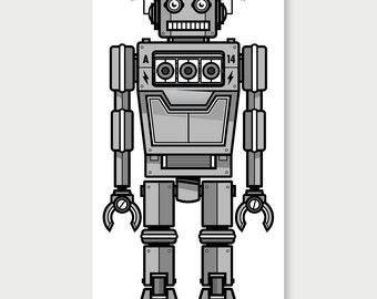 A-14 Robot - Original Poster