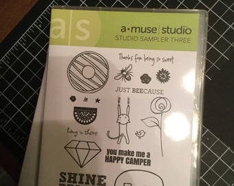 DESTASH - Amuse Stamp Set - Sampler Three