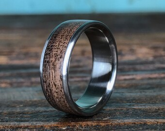 Titanium Rings Wood Rings Wedding Rings and More by RobandLean