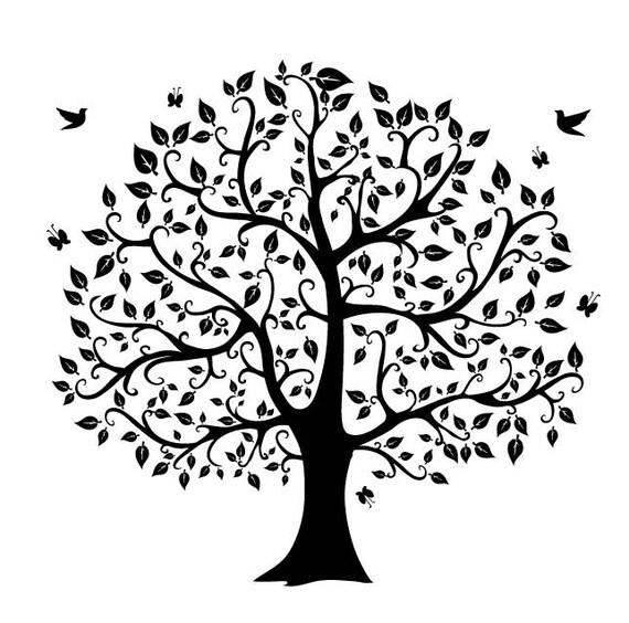 African Roots Quotes: Silueta De árbol Digital Clipart Png Archivos Clip Art