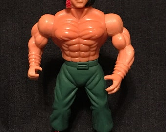 Vintage Action Figure Rambo Vintage 80's Toy