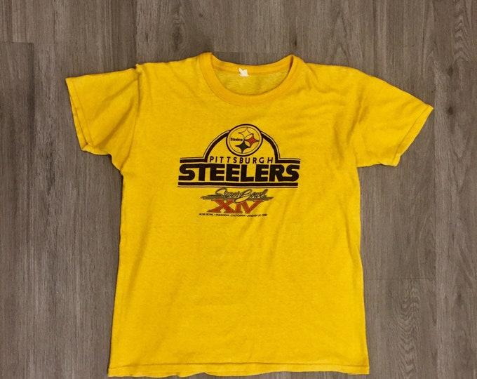 80s Pittsburgh Steelers Tee