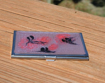 Dancing fairies- business card case - bc49