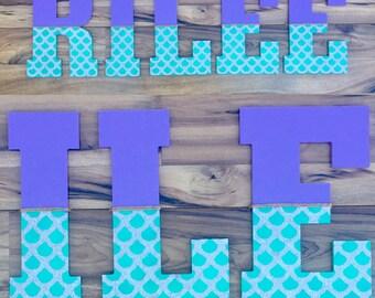 """Mermaid Painted Letters 10.5"""""""