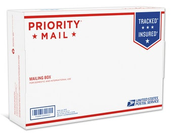 Upgraded Shipping Priority Mail 2-Day™ Small Flat Rate Box