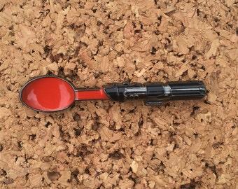 Darth Vader Lightsaber Spoon Hat Pin
