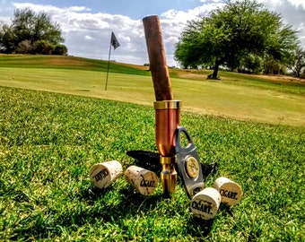 Great golf cigar gift set for him. The Ultimate Golf Cigar Package Cigar gift package.Great fathers day golf gift Shotgun Ball marker