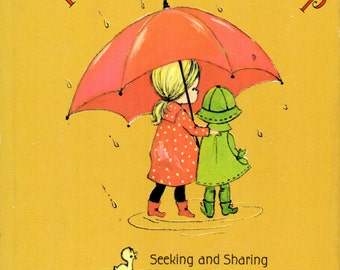 The Gold of Friendship By Gail Mahan Illustrated by Marilyn Conklin  - A Small Hallmark Editions Book 1967