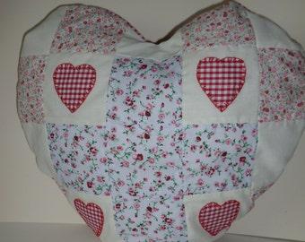 Heart shaped cushion
