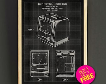 First computer mouse patent wall art computer mouse blueprint apple computer housing patent wall art first apple computer blueprint poster art print house wear gift linen print buy 2 get free 335s2g malvernweather Images