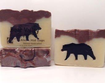 Sandalwood Soap, Bear Valley, Natural Soap Bar, Artisan Soap Bar, Vegan Soap, Vegan Handmade Soap Bar, Artisan Vegan Soap, Cold Process Soap