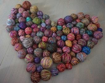 Mini yarn balls 400 grams, 14.12 oz, cotton yarn, wool yarn, acrylic yarn, colorful yarn, sock yarn, baby yarn, fancy yarn, yarn for crochet