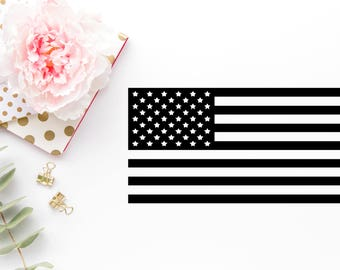 American Flag SVG - Fourth Of July Svg - Flag dxf - Flag  png