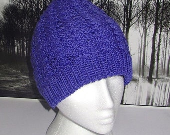 HALF PRICE SALE Instant Digital File Pdf Download Cable Beanie hat pdf knitting pattern