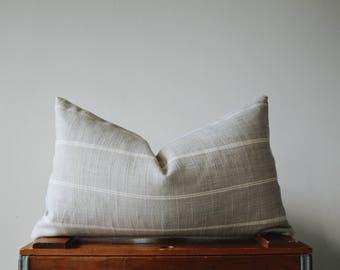THE BOSTON 18x10 Lumbar Pillow Cover